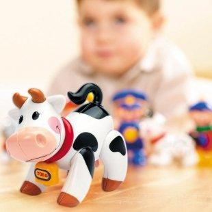 عروسک نشکن گاو tolo کد87450