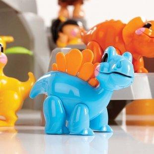 اسباب بازی دایناسور آبی روشن tolo کد 87364