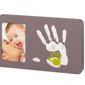 کیت قالب دست و پای کودک با قاب عكس babyartمدل taupe کد 34120098