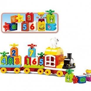 خرید لگو دوپلو اسمونو smoneo مدل قطار آموزشی