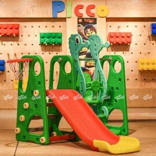خرید تاب و سرسره کودک مدل حروف انگلیسی