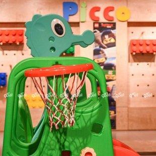 تاب با حلقه بسکتبال کودک