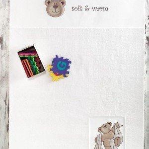 فرش اتاق کودک مدل teddy bobo