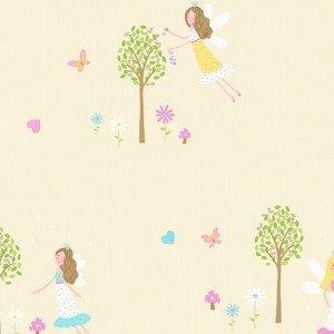 کاغذ دیواری انگلیسی اتاق کودک - کاروسل Dl21128