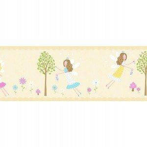 حاشیه ( بوردر ) کاغذ دیواری انگلیسی اتاق کودک - کاروسل Dlb50084