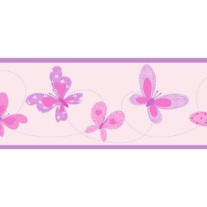 حاشیه ( بوردر ) کاغذ دیواری انگلیسی اتاق کودک - هوپلا DLB 07525