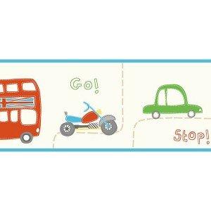 حاشیه ( بوردر ) کاغذ دیواری انگلیسی اتاق کودک - هوپلا DLB 07538