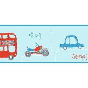 حاشیه ( بوردر ) کاغذ دیواری انگلیسی اتاق کودک - هوپلا DLB 07536