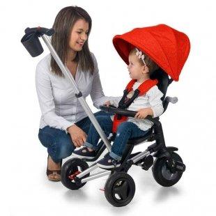 سه چرخه کودک تاشو مل Nova plus رنگ قرمز
