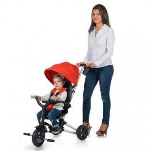 خرید سه چرخه کودک تاشو مل Nova plus رنگ قرمز