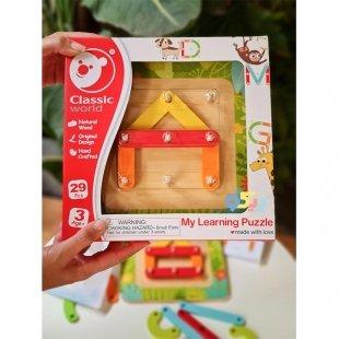 خرسد اسباب بازی چوبی ساختنی