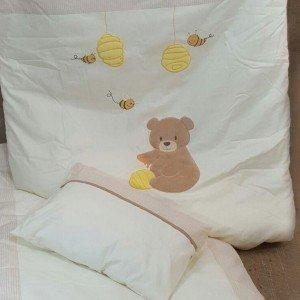 سرویس خواب 3تکه kidboo طرح honey bear