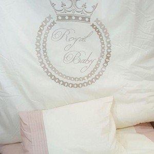 سرویس خواب 3تکه kidboo طرح royal vanilla
