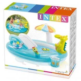 خرید استخر بادی کودک اینتکس مدل تمساح کد 57165