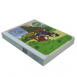 خرید پازل کتابی چوبی مدل پنگوئن دانش آموز کد PBS-015