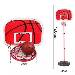 خرید حلقه بسکتبال با توپ
