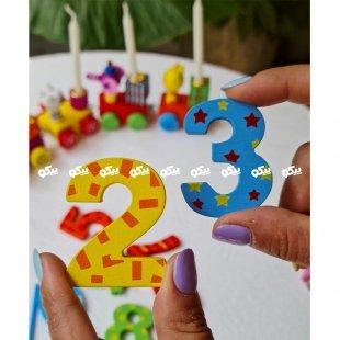 اسباب بازی اعداد چوبی