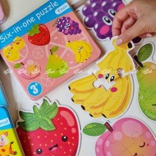 خرید پازل آموزش میوه ها