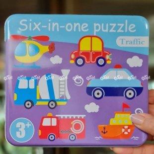 خرید پازل کودکانه ماشین ها
