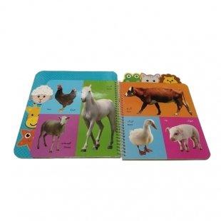 کتاب آشنایی کودکان با حیوان ها