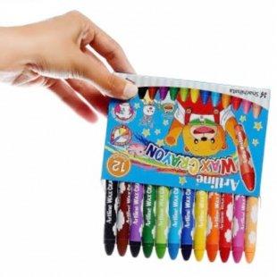 خرید مداد شمعی 12 رنگ