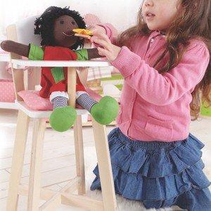 صندلی چوبی عروسک hapeکد 3600