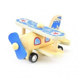 خرید اسباب بازی هواپیمای چوبی