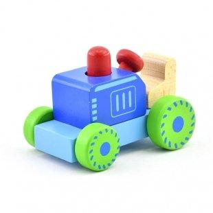 خرید تراکتور جغجغه ای چوبی