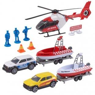 خرید ست اسباب بازی ماشین امداد و نجات