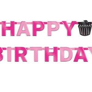 تم تولد صورتی happy birthday