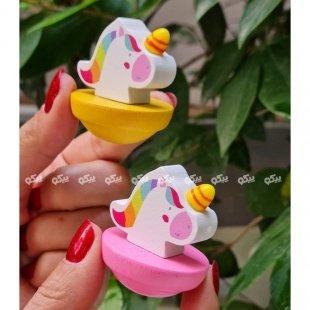 خرید اسباب بازی چوبی یونیکورن موزیکال