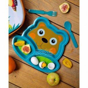 ظرف غذای کودک طرح خرس oops مدل 4000511