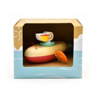خرید اسباب بازی قایق چوبی کوکی