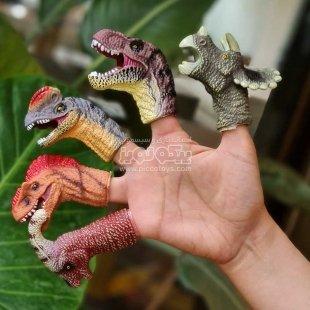 فیگور دایناسور مدل انگشتی