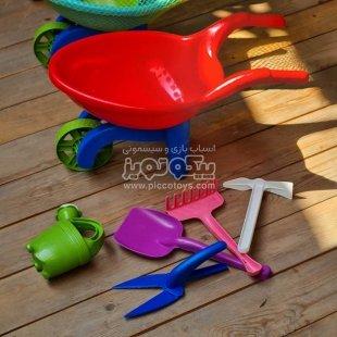 قیمت ست ابزار شن بازی مدل فرغون