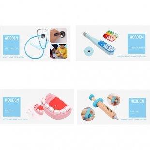 اسباب بازی چوبی ست دندانپزشکی