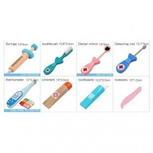 اسباب بازی چوبی دندانپزشکی