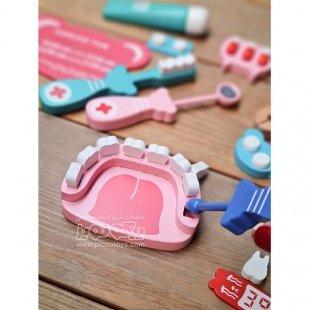 ست اسباب بازی دندان پزشکی