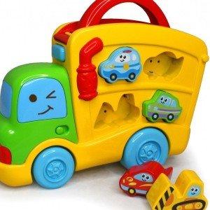 ماشین پازل موزیکال blue box کد4704