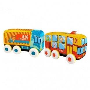 قیمت اتوبوس پارچه ای 2 عددی کد HE0242