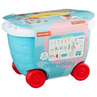 اسباب بازی مراقبت پزشکی از نوزاد مدل سطلی کد 5C502