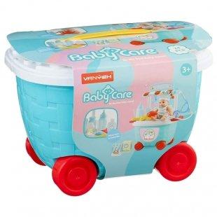 اسباب بازی پزشکی مراقبت از نوزاد مدل سطلی کد 5C502