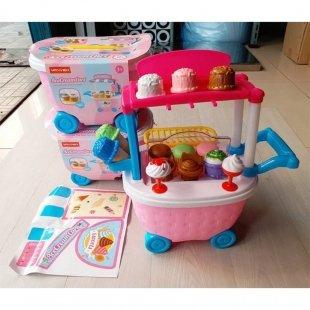 عکس اسباب بازی بستنی فروشی مدل سطلی کد 5C509
