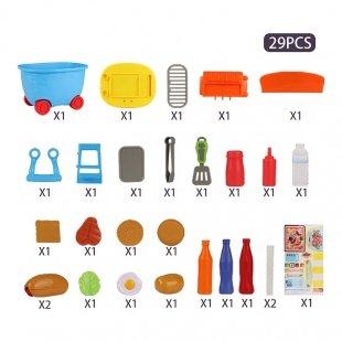 اسباب بازی آشپزی مدل سطلی کد 5C504