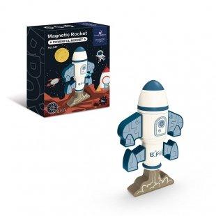 خرید اسباب بازی مگنتی طرح موشک فضایی 8 تکه کد 347