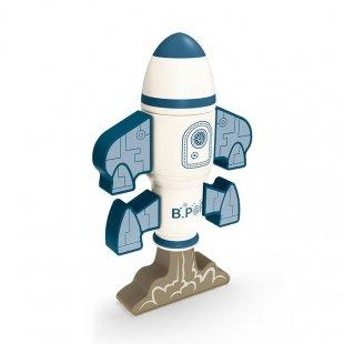 قیمت اسباب بازی مگنتی طرح موشک فضایی 8 تکه کد 347