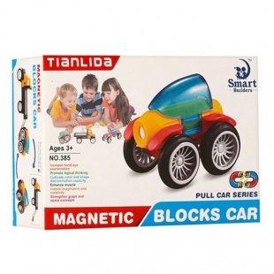 قیمت اسباب بازی مگنتی مدل ماشین عقب کش 5 تکه کد 385