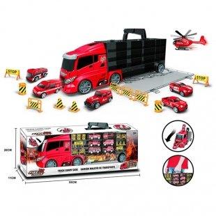 خرید اسباب بازی کامیون آتش نشانی کد 66609G
