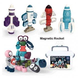خرید اسباب بازی مگنتی طرح موشک فضایی