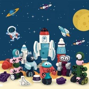 خرید اسباب بازی مگنتی طرح ربات